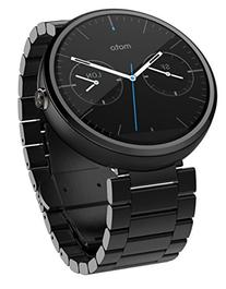 Motorola - Moto 360 23mm Smartwatch For Select Android
