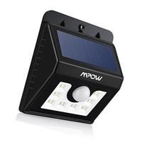 Mpow LED Solar light, Bright Security Lighting Outdoor
