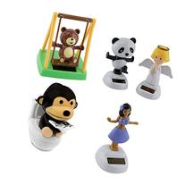 Mstechcorp Solar Powered Swinging Panda, Swinging Monkey,