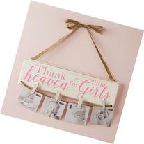 Mud Pie Thank Heaven For Little Girls Clothespin Photo