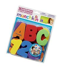 Munch Bath Letters/Number Size 1ct Munch Bath Letters/