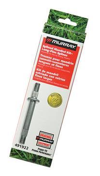 Murray Splined Jackshaft Kit Threaded & Splined; 7.89-Inch
