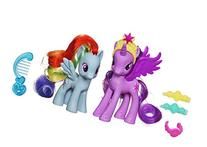 My Little Pony Crystal Twilight and Rainbow Dash
