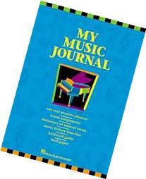 My Music Journal - Student Assignment Book: Hal Leonard