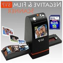 NEW! SVP -Digital 35mm Films & Slides Scanner w/ Build-in