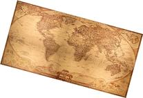National Geographic Ancient World Map Framed Canvas Prints