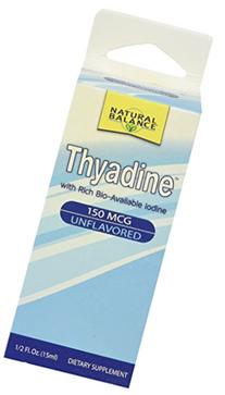 Natural Balance 150 mcg Thyadine Mineral Supplement, 0.5