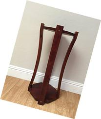 Natural Wooden Floor Stand- Sand Watch Style
