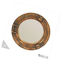 Nautical Ship Porthole Mirror Wall Decor by Fun Express