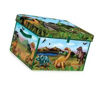 Neat-Oh! ZipBin 160 Dinosaur Collector Toy Box & Playset w/