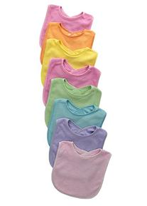 Neat Solutions 8 Pack Multi-Color Solid Knit Terry Feeder