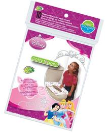 Neat Solutions Disney Princess Potty Topper, 10-Count