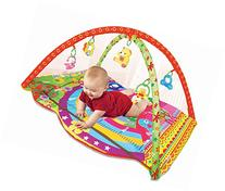 PLS Baby Colorful Play Gym Playmat, Extra Thick, Rattle