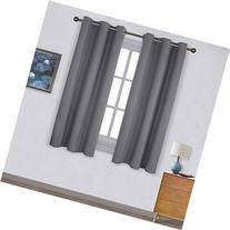 NICETOWN Thermal Insulated Grommet Blackout Curtains for