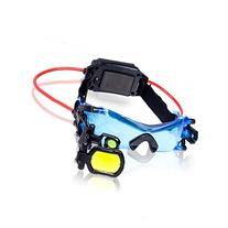 Night Goggles in Bright Led Lights & Blue Tinted Lenses