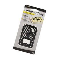 Nite Ize Financial Tool Money Clip Wallet, Minimalist Wallet