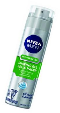 Nivea For Men Extreme Comfort Shave Gel, 7-Ounce Canister