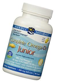 Nordic Naturals - Complete Omega-D3 Junior, Promotes Brain,