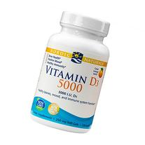 Nordic Naturals - Vitamin D3 5000, Healthy Bones, Mood, and