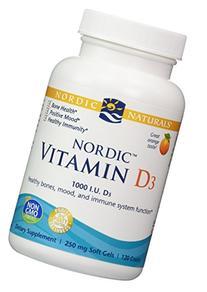 Nordic Naturals - Vitamin D3 Orange Flavor 250 mg 120 gels