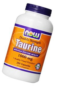 Now Foods: Taurine Nervous System Health 1000 mg, 250 Caps
