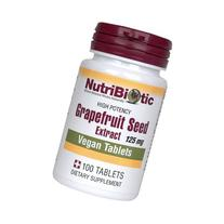 Nutribiotic - GSE Grapefruit Seed Extract 125 mg. - 100