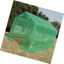 Quictent 12'x7'x7' Portable Backyard Large Greenhouse Green