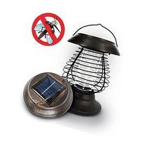 OUTXPRO Mosquito Bug Zapper LED Solar Powered Metal Garden