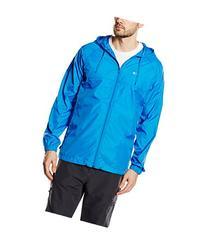 Oakley Mens Dally Windbreaker Jacket Large Electric Blue