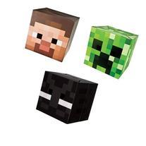 Official Minecraft Exclusive Steve, Creeper & Enderman Head