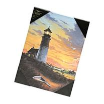 Ohio Wholesale Radiance Lighted Canvas Wall Art, Lighthouse
