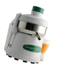 Omega Juicers J4000 Stainless Steel 1/3-HP Continuous Pulp-