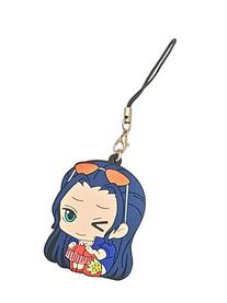 One Piece: Robin Pvc Keychain / Cell Phone Charm ~ Nico