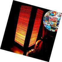 Orange Bamboo Table Lamp Night Light Lighting Shade Floor
