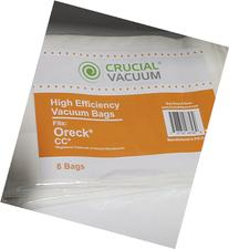 Crucial Vacuum Replacement Bags Compatible With Oreck Type