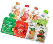 Organic Baby Food Stage 3 Meals 8-Flavor Variety Pack