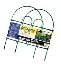 Origin Point Gard'n Border Round Folding Fence, Green, 18-