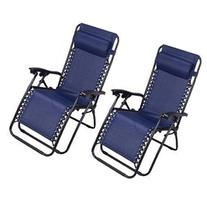 Outsunny Zero Gravity Recliner Lounge Patio Pool Chair - 2
