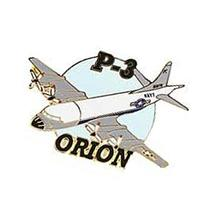 P-3 Orion Airplane Pin 1 1/2
