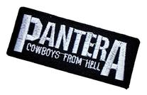 PANTERA Thrash Metal Band t Shirts Logo MP28 applique iron