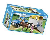 PLAYMOBIL SUV with Horse Trailer
