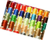 PREMIUM 50 Cones  of Polyester Embroidery Threads for for
