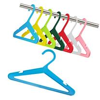 "Hangerworld Baby & Toddler 10"" Plastic Clothes Hangers, Pack"