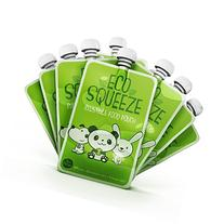 BPA Free Reusable Refillable Baby Food Pouch - 8 Pack - By