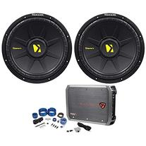 """Package:  Kicker 40CWS122 CompS 12"""" 2-Ohm SVC Car Subwoofers"""