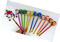 Party Bag Pack of 12 Chinese Drum Toys shape Cute Animal