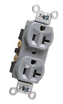 Legrand-Pass & Seymour CRB5362GRYCC12 20-Amp/125-volt