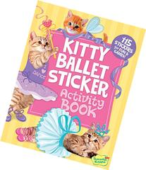 Peaceable Kingdom Kitty Ballet Sticker Activity Book