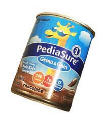 PediaSure 8 oz Cans -Chocolate Case: 24