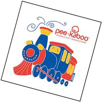 Pee-kaboo Reusable Potty Training Sticker for Potty Chair -